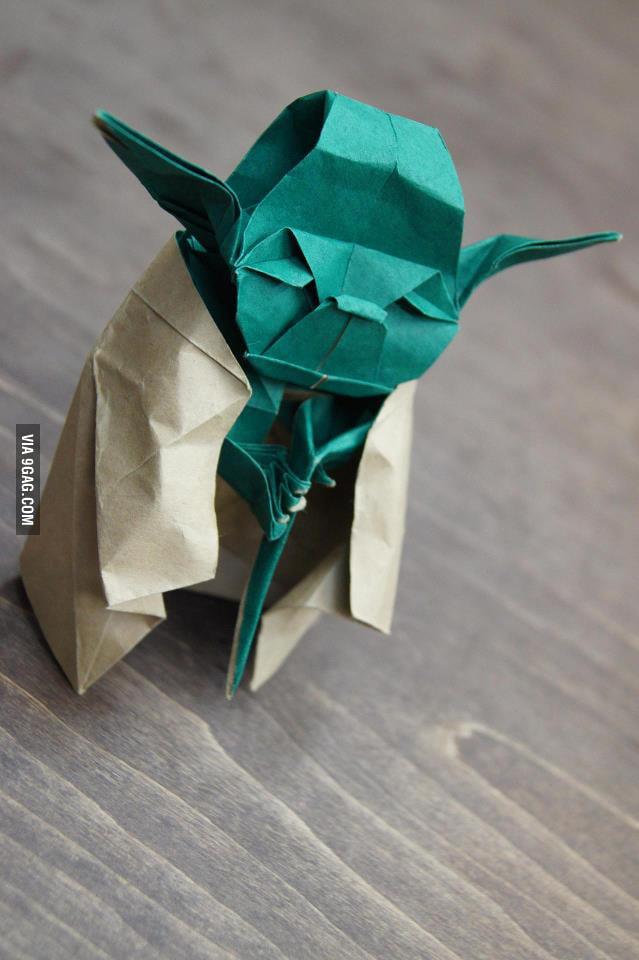 Origami level: Jedi!