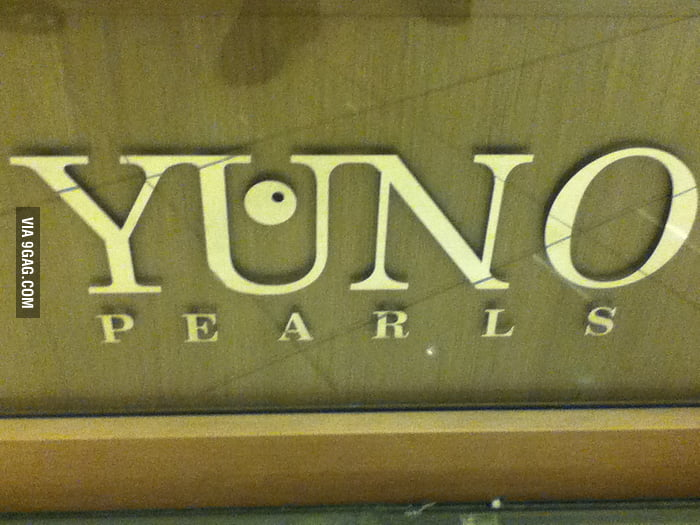 Ohhh, this? Just the name of a shop at the local mall
