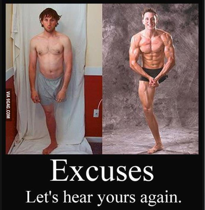 What is your excuse... respect for this guy