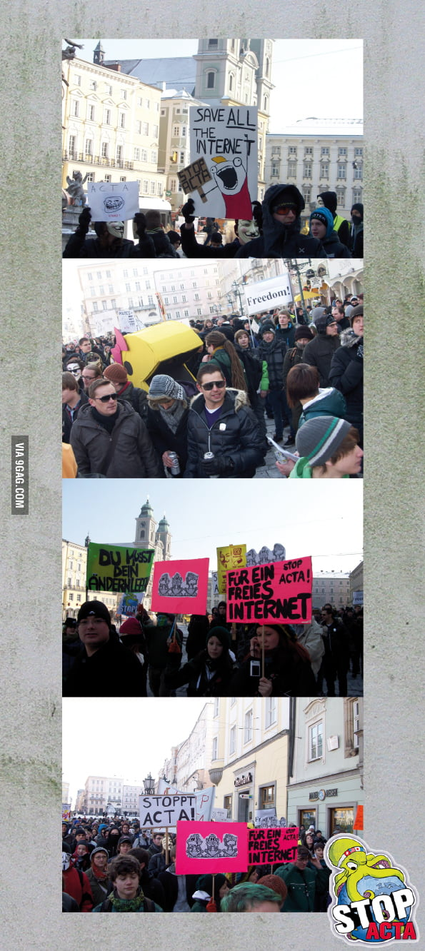 Just Anti-ACTA in Austria