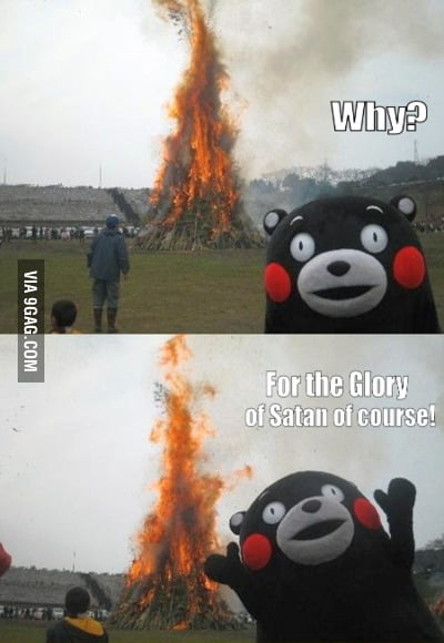 The Glory of Satan