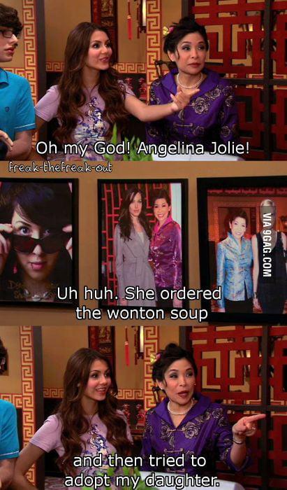 Just Angelina Jolie...