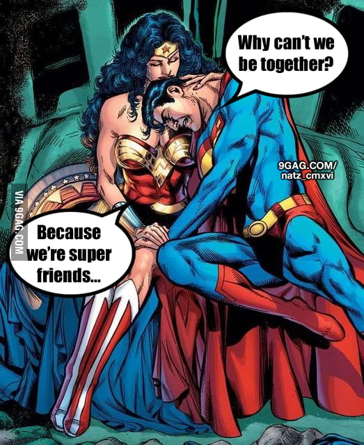 Friendzone Level : Superhero