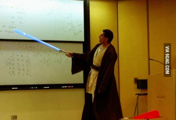 Awesome lecturer is awesome