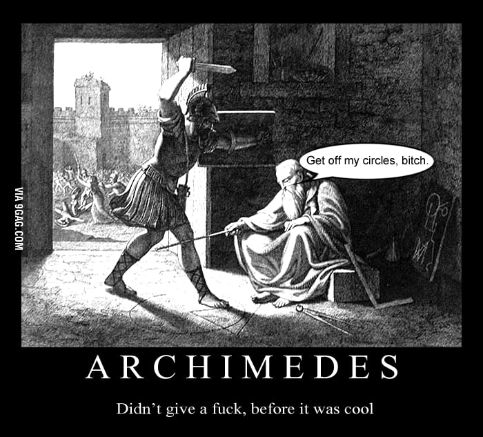 Just Archimedes.