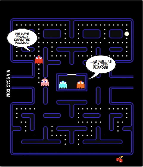 Pac man existentialism