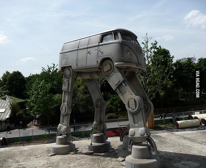Just a Volkswagen... Imperial Walker!