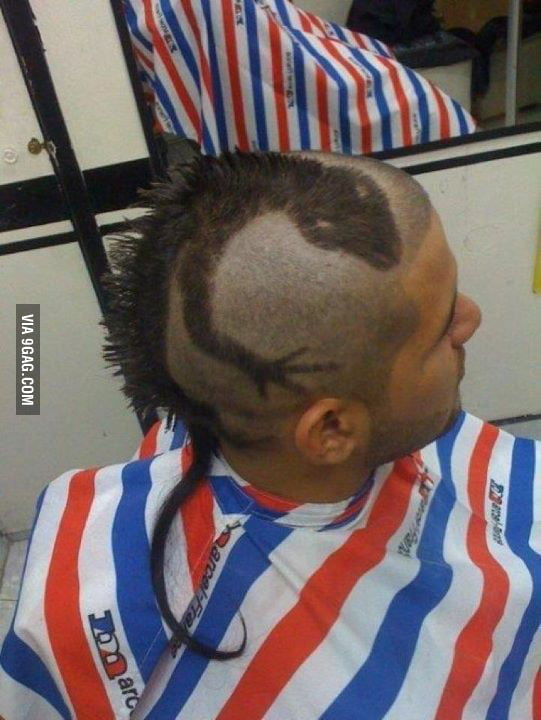 Mother of HAIRCUTS!