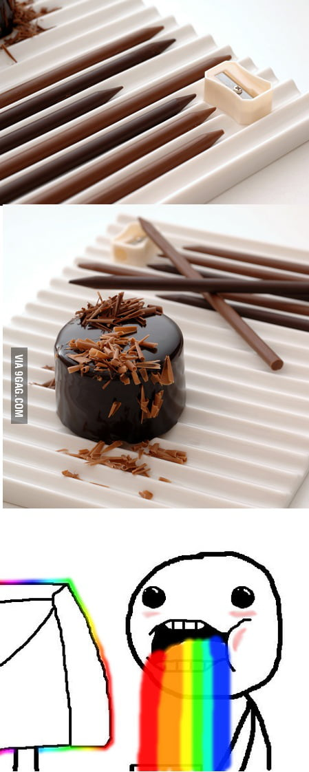 Chocolate Pencils - for all you pencil chewers