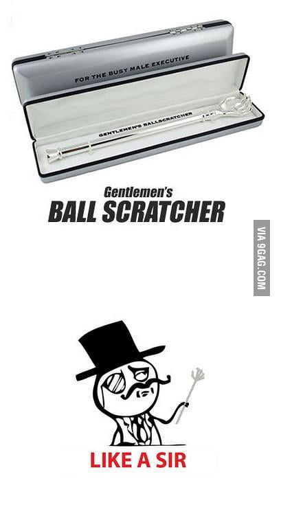 Gentlemen's Ball Scratcher