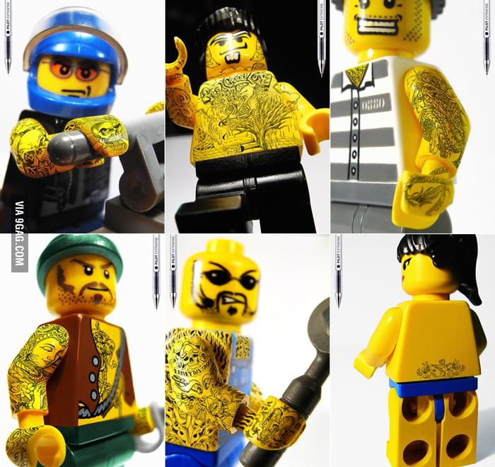 Badass LEGO Tattoos