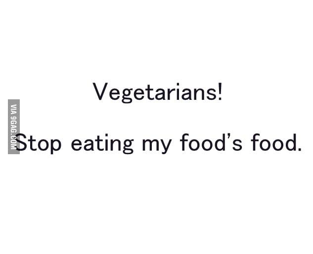 Y U EAT MY FOOD'S FOOD ?