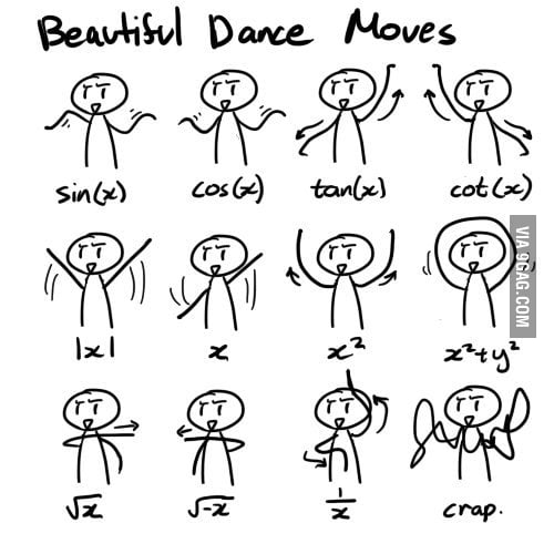 Math - Beautiful Dnace Moves