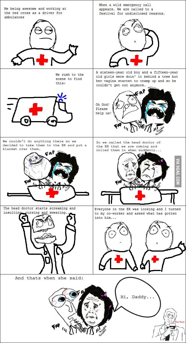 Tales of an ambulance driver.