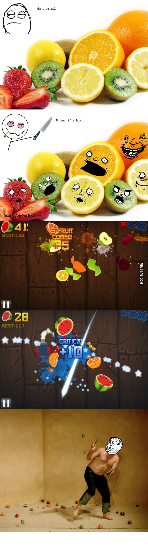 Fruit Ninjhigh