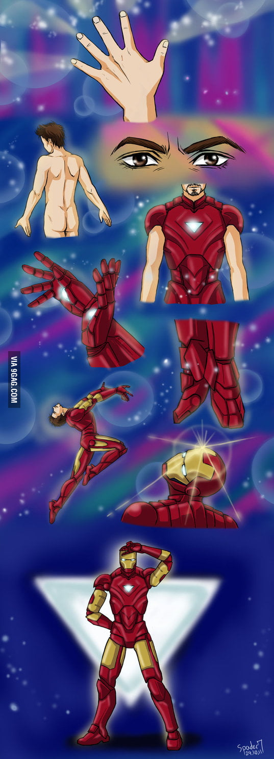 Iron Sailor Moon Man
