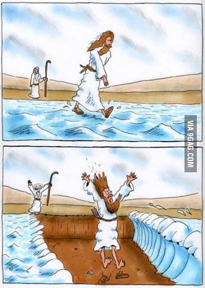 Trolling level: Bible
