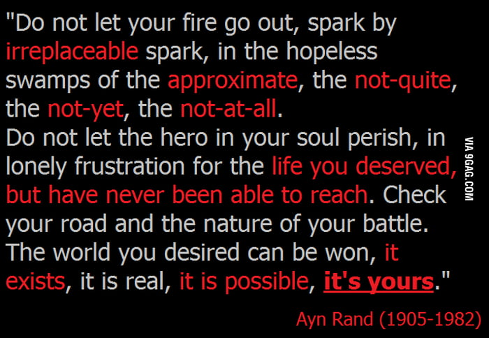 Awesome Ayn Rand is awesome