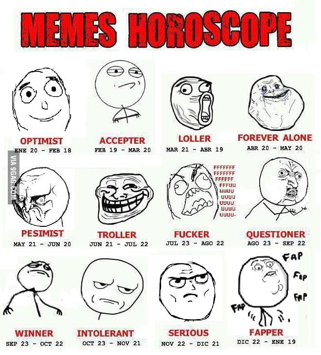 Funny Memes For Zodiac Signs : Funny meme horoscope memes