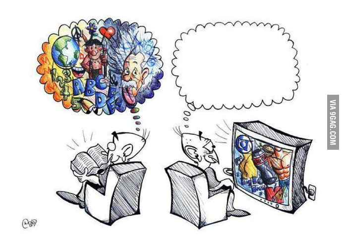 TV vs BOOKS
