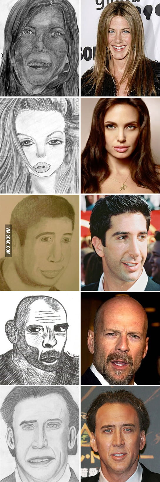 Awful Celebrity Fan Art