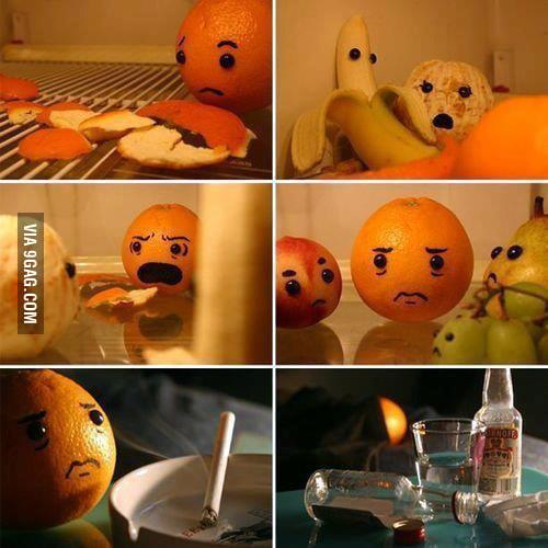 An orange story