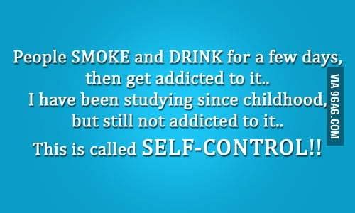 Self Control like a BOSS!!