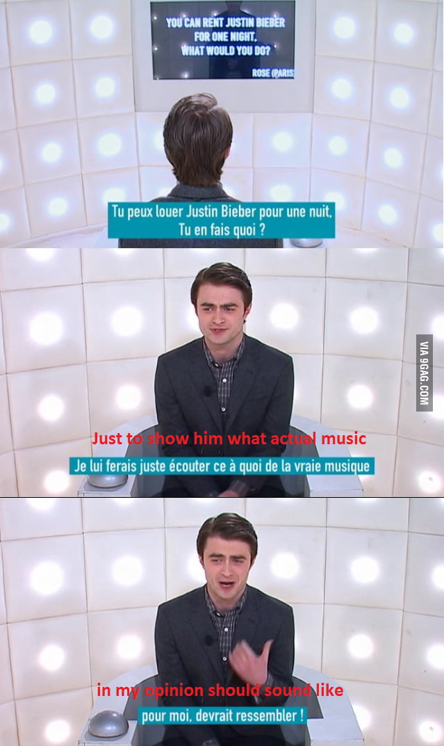 Faith in Daniel Radcliffe never lost