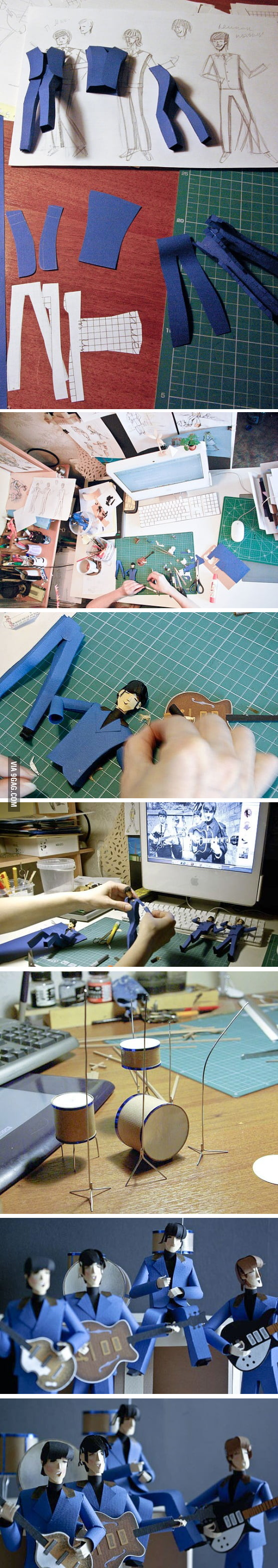 Awesome paper art is awesome.