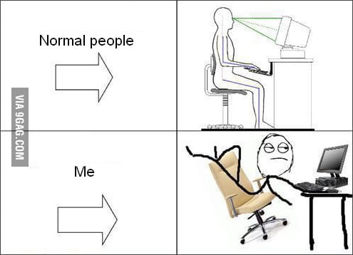 Normal People vs Me