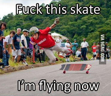 Because Skating is too mainstream