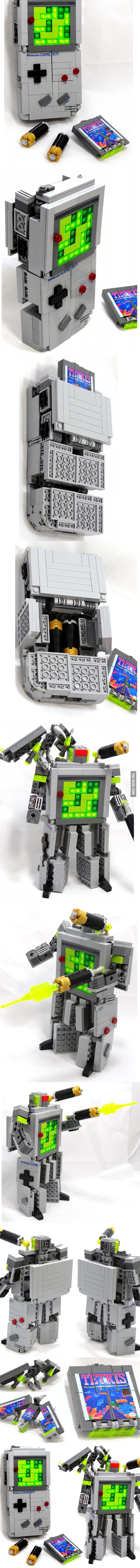 So I heard you like lego, transformer and game boy