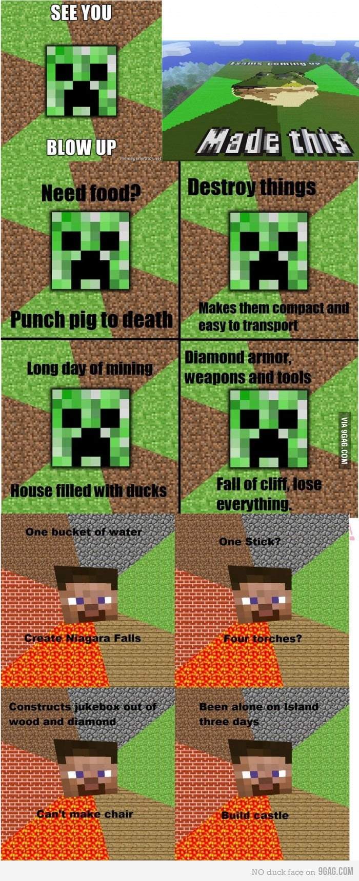 Minecraft logic