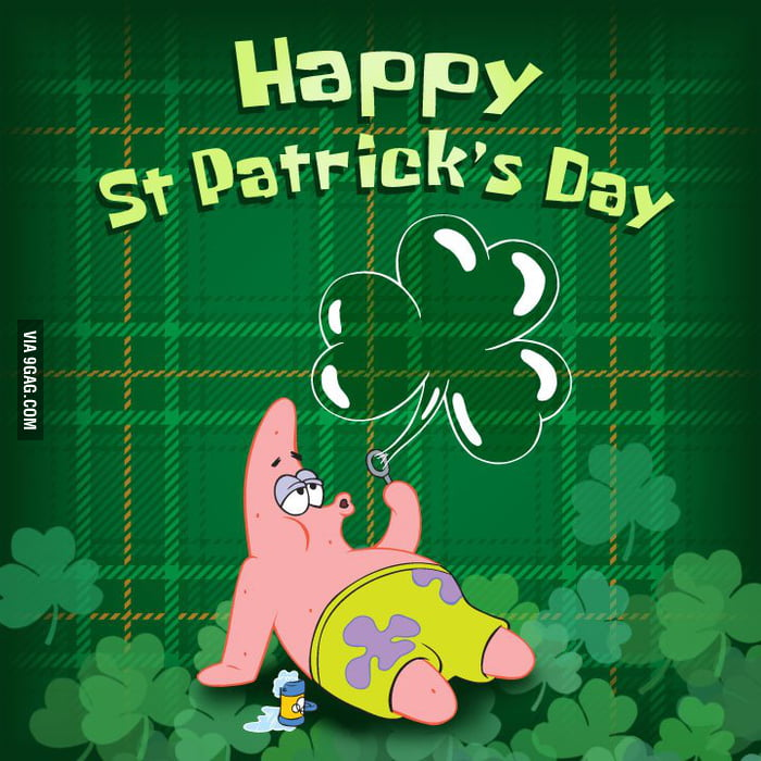 Happy St. 'Patricks' day.