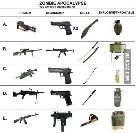 Pick your class. (mine is B cuz im a ninja)