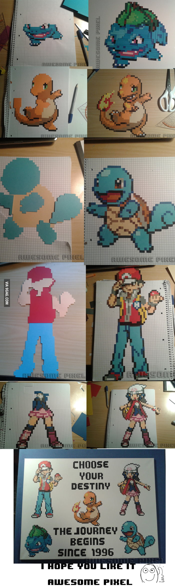 I heard you like Pixelart (Pokémon)