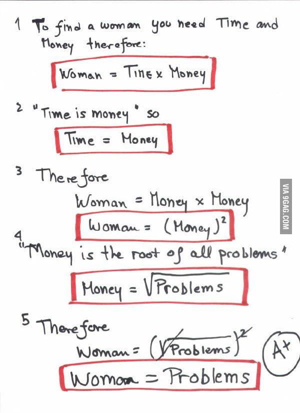 Simple math.