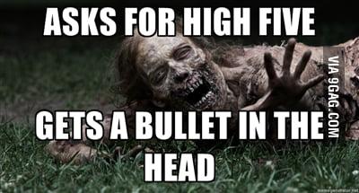 Misinterpreted zombie