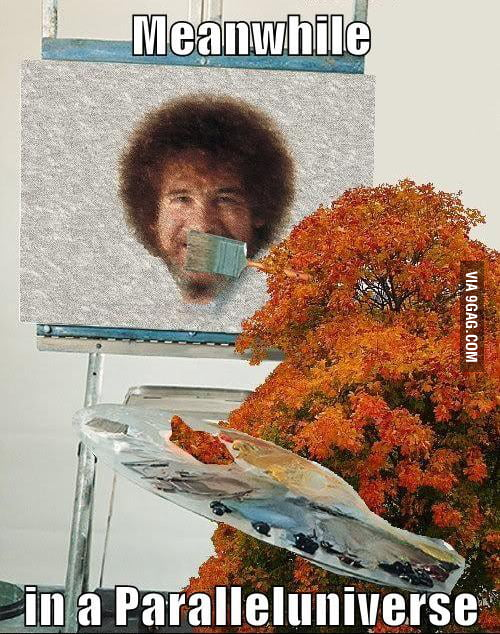 Bob Ross in a Paral