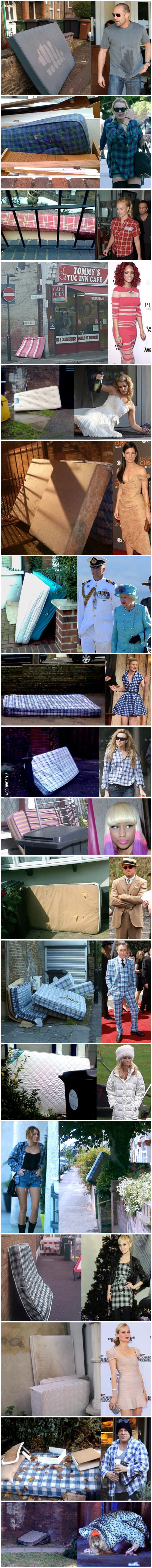 18 celebrities who look like mattresses