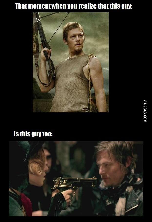 Daryl Dixon, is Judas! :o