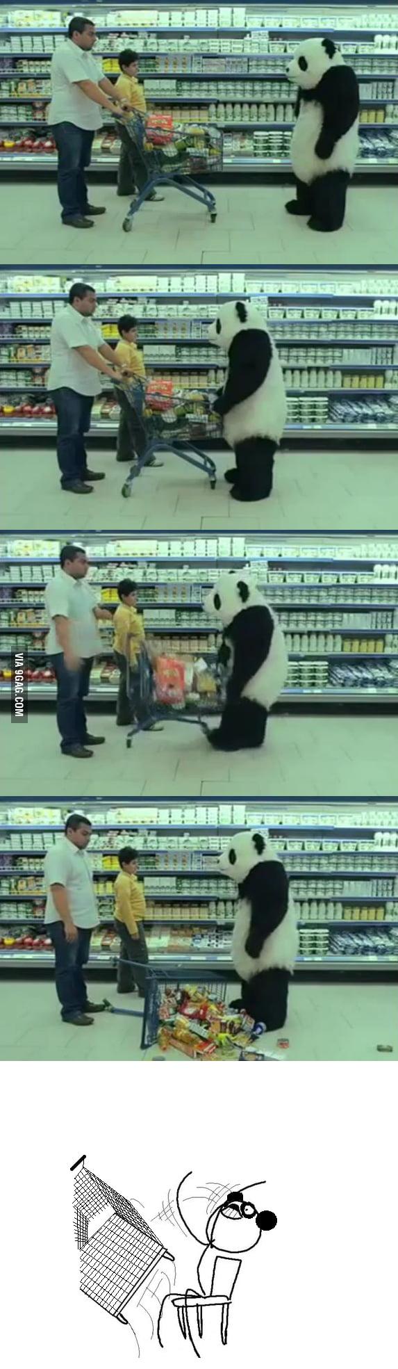 Panda flip!