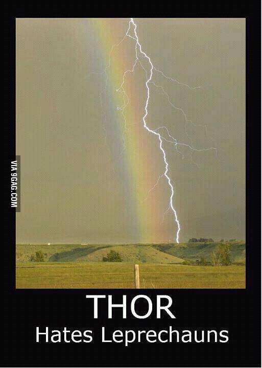 Thor vs. Leprechauns