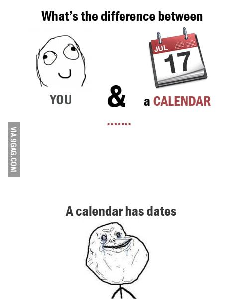 You and a calendar