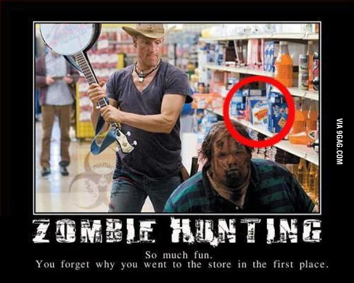 Did anyone else notice this in Zombieland?