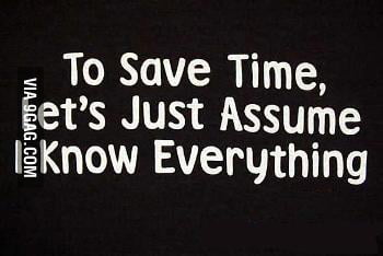 Let's assume