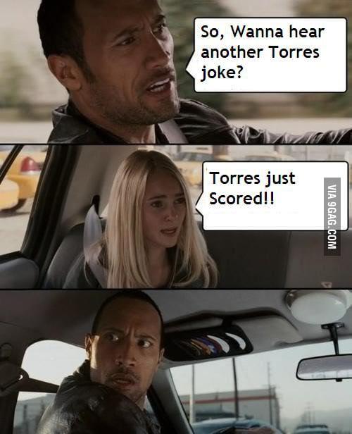 Y U Scored, Torres?