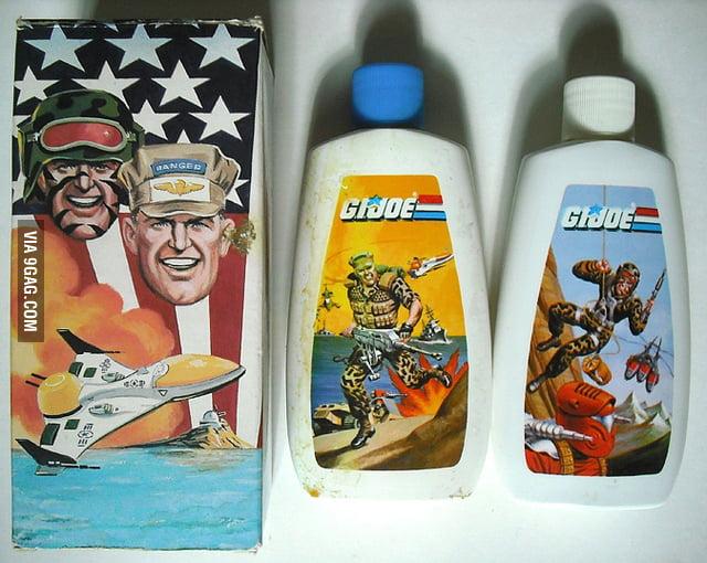 G.I. Joe Shampoo