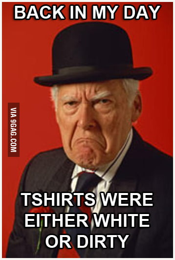 What my Grandpa has to say about my t-shirt printing busines