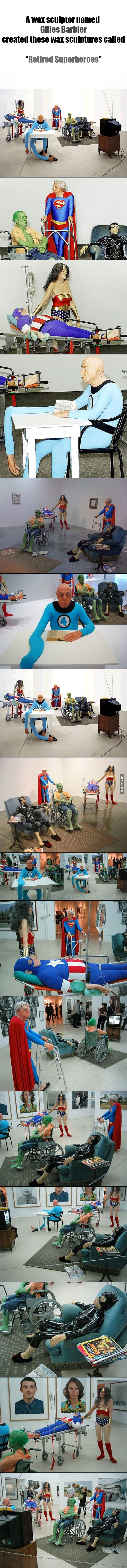 Retired Superheroes!